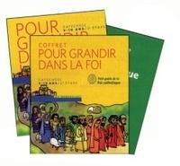 SCD Paris et  SDC Fréjus-Toulon - Vivre avec le Peuple de Dieu - Coffret en 2 volumes : 2e étape CM1 ; Petit guide de la foi catholique.