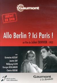 Julien Duvivier - Allo Berlin ? Ici Paris !. 1 DVD