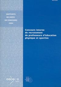 Deedr.fr Concours interne de recrutement de professeurs d'éducation physique et sportive et CAER Image