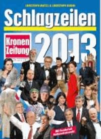 Schlagzeilen 2013.