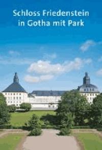 Schloss Friedenstein in Gotha mit Park.