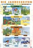Schofield - Poster Die Jahreszeiten.