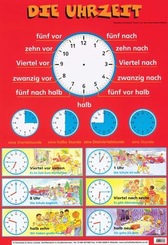 Schofield - Poster Die Uhrzeit.