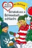 Schokokuss & Schneeballschlacht.
