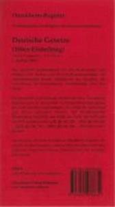 Schönfelder 100er: 102 bedruckte Griffregister für Deutsche Gesetze 100er-Einteilung - Bedruckte Folienreiter zur Befestigung an Trennblättern oder Buchseiten. Über das Dürckheim-Register werden die gesuchten Gesetze  in den großen Gesetzessammlungen markiert und zielsicher aufgeschlage.