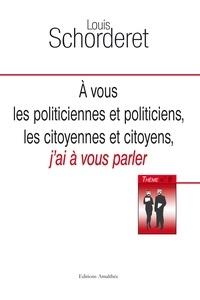 Accentsonline.fr A vous politiciennes et politiciens, les citoyennes et citoyens, j'ai à vous parler Image