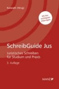 SchreibGuide Jus - Juristisches Schreiben für Studium und Praxis.