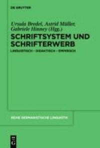 """Schriftsystem und Schrifterwerb: linguistisch - didaktisch - empirisch - Linguistisch a """" Didaktisch a """" Empirisch."""