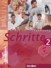 Ucareoutplacement.be Schritte 2. Kursbuch und Arbeitsbuch mit CD - Deutsch als Fremdsprache. Niveau1/2 Image