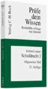 Schuldrecht 1. Allgemeiner Teil - Rechtsstand: April 2009.
