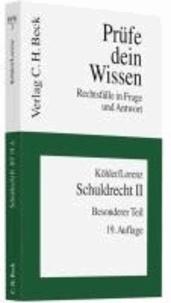 Schuldrecht II - Besonderer Teil. Rechtsstand: März 2011.