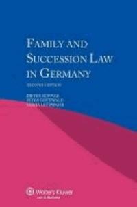 Schwab et Dieter Gottwald Peter Lettmai Schwab - Family Succession Law in Germany- 2nd Edition.