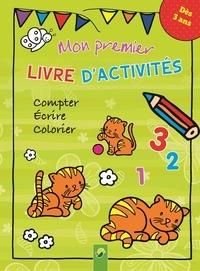 Deedr.fr Mon premier livre d'activités - Compter, écrire, colorier. Dès 3 ans Image