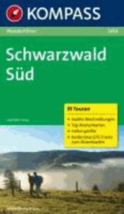 Schwarzwald Süd - Wanderführer mit Tourenkarten und Höhenprofilen.