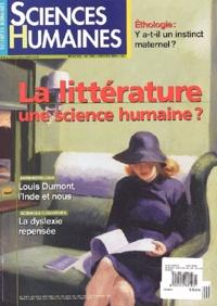 Sciences humaines - Sciences Humaines N° 134 Janvier 2003 : La littérature, une science humaine ?.