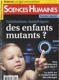 Jean-François Dortier - Sciences Humaines N° 252S, octobre/nov : Générations numériques, des enfants mutants ?.