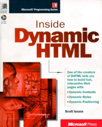 Accentsonline.fr INSIDE DYNAMIC HTML. CD-ROM included Image