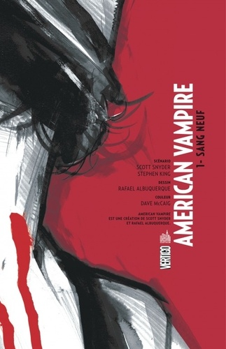 American Vampire Tome 1 Sang neuf