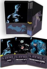 Scott Snyder et Frank Miller - Batman 75th Anniversary Commemorative Collection - 3 volumes : The Dark Knight Returns ; The Court of Owls ; Hush.