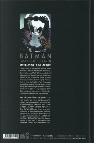 Batman. Last Knight on Earth