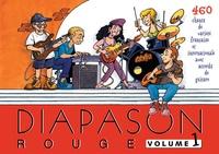 Scouts de France - Diapason Rouge - Volume 1, Carnet de 460 chants avec accords.