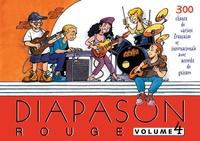 Scouts de France - Diapason Rouge - Volume 4, Carnet de 300 chants avec accords.