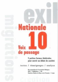 Script éditions - N 10 - Voix de passage.