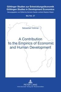 Sebastian Vollmer - A Contribution to the Empirics of Economic and Human Development.
