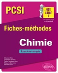 Sébastien Abry et Christophe Bernicot - Chimie PCSI - Fiches-méthodes et exercices corrigés.