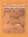 Sébastien Barberan - Mutations économiques et culturelles à Nîmes au début du Haut-Empire : l'apport du mobilier céramique.