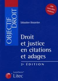 Lemememonde.fr Droit et justice en citations et adages Image