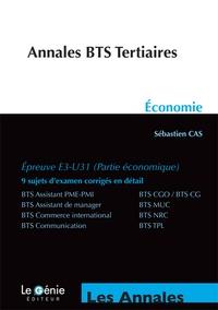 Annales d'Economie BTS Tertiaires - Sébastien Cas |