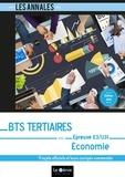 Sébastien Cas - Economie épreuve E3-U31 BTS Tertiaires - 9 sujets officiels et leurs corrigés commentés.