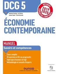 Sébastien Castaing et Léo Charles - DCG 5 Economie contemporaine - Manuel - Réforme Expertise comptable 2019-2020.