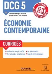 Sébastien Castaing et Léo Charles - DCG 5 Economie contemporaine - Corrigés.