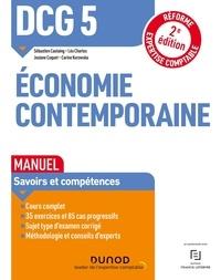 Sébastien Castaing et Léo Charles - DCG 5 Economie contemporaine - Manuel.