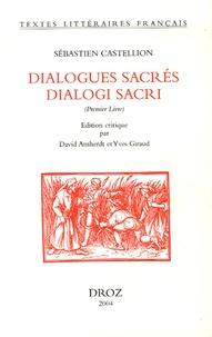 Histoiresdenlire.be Dialogues sacrés dialogi sacri - Premier Livre Image
