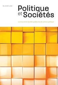 Sébastien Chailleux et Aboubacar Dakuyo - Politique et Sociétés  : Politique et Sociétés. Vol. 38 No. 2,  2019.