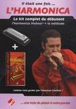Sébastien Charlier - Il était une fois... l'harmonica - Le kit complet du débutant : l'harmonica Hohner + la méthode.