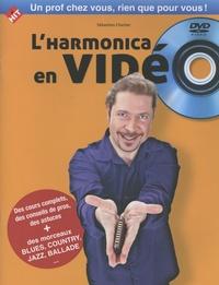 Sébastien Charlier - L'harmonica en vidéo. 1 DVD