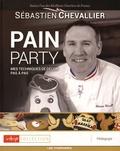 Sébastien Chevallier - Pain Party - Mes techniques de décor pas à pas, avec 95 pages de gabarits, caches et pochoirs.