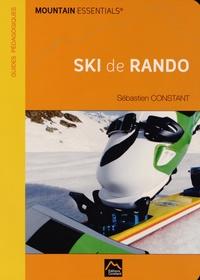 Sébastien Constant - Ski de rando.