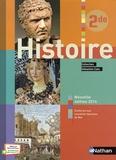 Sébastien Cote et Joëlle Alazard - Histoire 2nde - Livre de l'élève.