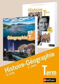 Sébastien Cote et Eric Janin - Histoire-Géographie Terminale.