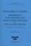 """Sébastien Daucé - Transcrire ou trahir ? - Remarques sur l'édition des manuscrits français des XVIIe & XVIIIe siècles - La collection """"Les arts florissants""""."""