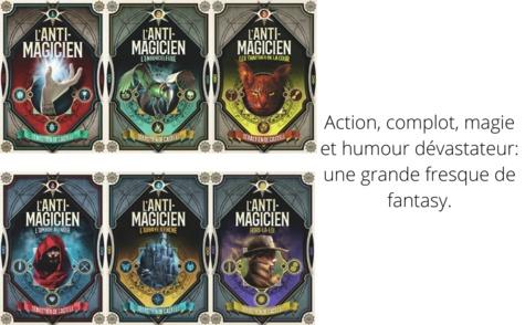 L'anti-magicien Tome 2 L'ombre au Noir