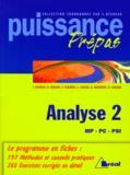 Sébastien Desreux et  Collectif - Analyse Tome 2 - Analyse.