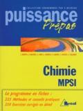 Sébastien Desreux et  Collectif - Chimie générale - Classes préparatoires, premier cycle universitaire, MPSI.