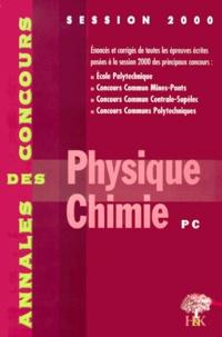 Physique et chimie PC. Session 2000.pdf