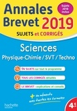 Sébastien Dessaint et Malorie Gorillot - Physique-Chimie, SVT, Technologie - Sujets corrigés.